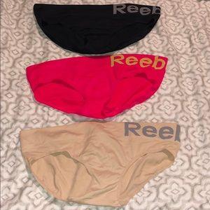 3 Reebok Panties